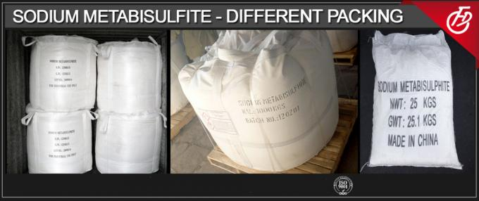 Na2S2O5 Sodium Metabisulfite Powder Crystalline Food / Industrial Grade