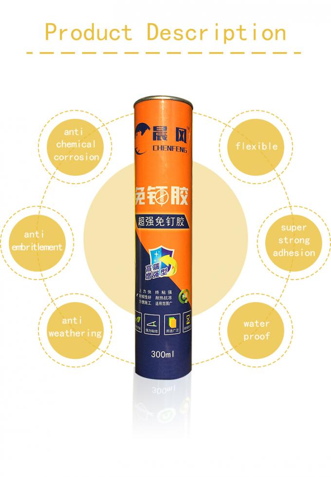 High Strength Construction Adhesive/Liquid Nail Adhesive