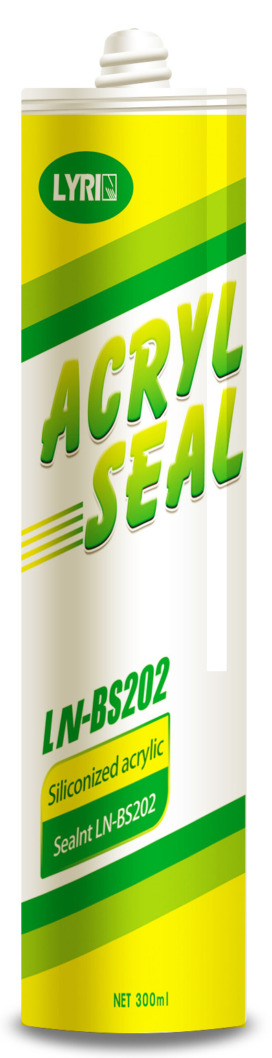 Quick Drying Acrylic Sealant Adhesive Excellent Sealing Performance