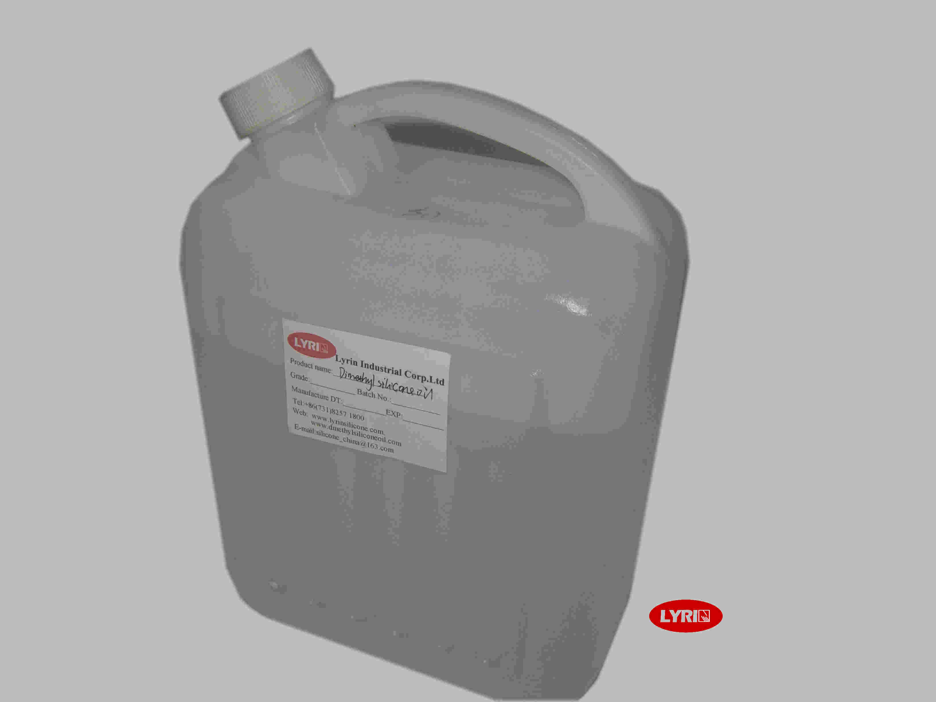 Non - Toxic Dimethyl Silicone Fluid With Medium Viscosity 100 - 5000 Cst