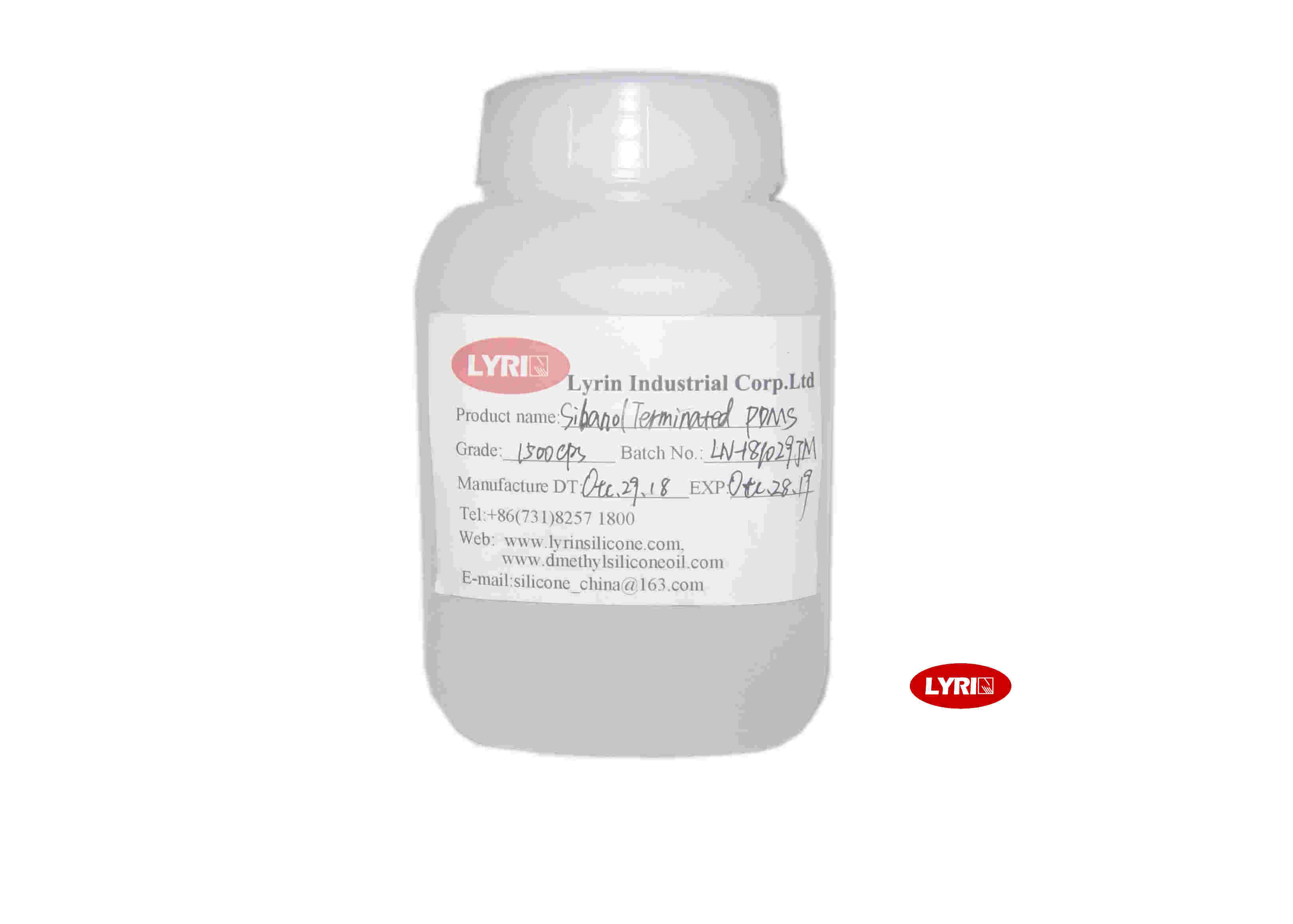 High Flash Point Dimethyl Silicone Fluid Grade 350cst As Defoam Agent